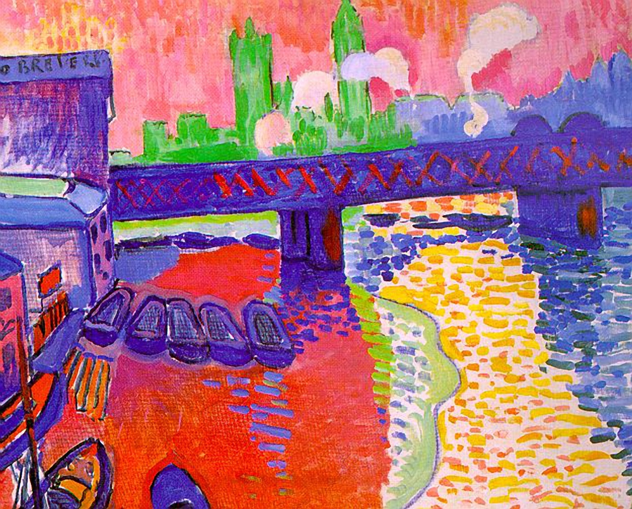 Derain London Landscape