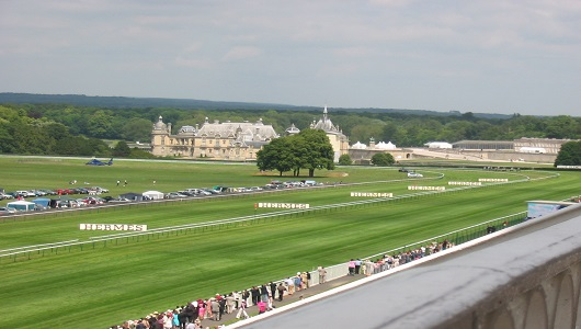 Chantilly Racecourse by JeanFran~commonswiki via Wikimedia Commons